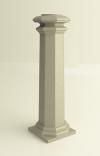 """Основание """"Square A"""" для колонн диаметром 80 mm"""