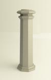 """Основание """"Square B"""" для колонн диаметром 80 mm"""