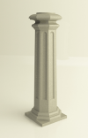 """Основание """"Square Royal A"""" для колонн диаметром 80 mm"""