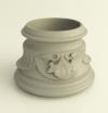 Декоративное кольцо Fleur Type 1 для колонн диаметром 80mm