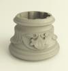 Декоративное кольцо Fleur Type 2 для колонн диаметром 80mm