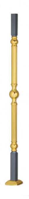 Латунный столб