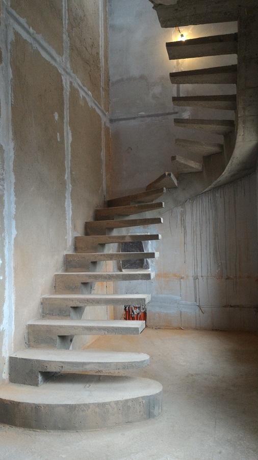 Изготовление железобетонные лестницы хз жби