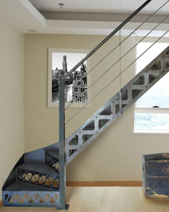 Лестница на косоурах