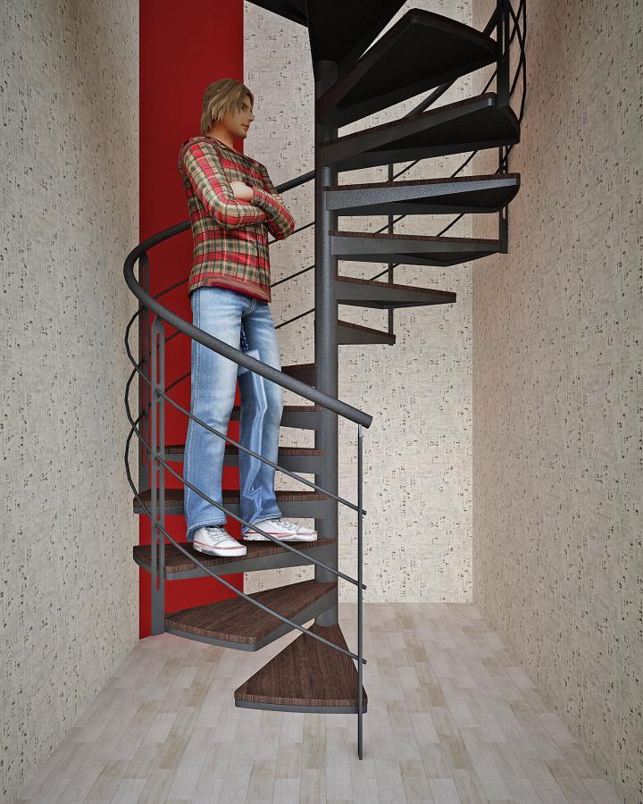 Винтовая лестница.