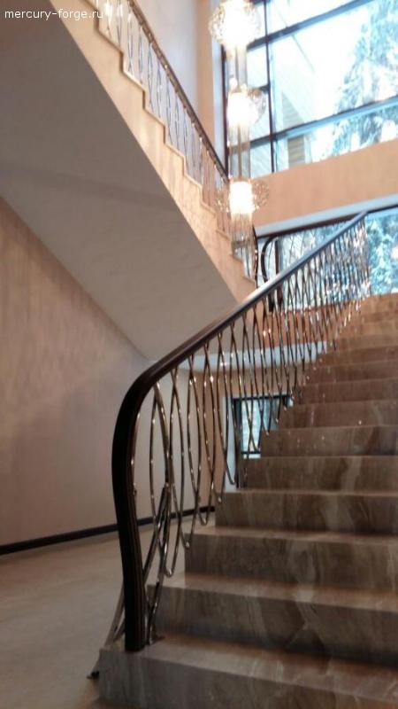 Элитное ограждение лестницы